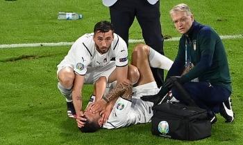 Tuyển Italia gặp tổn thất lớn lực lượng trước trận bán kết EURO 2021