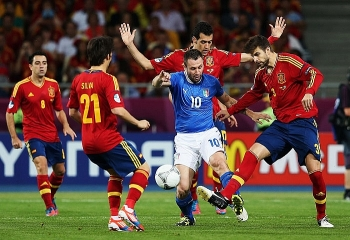 Lịch sử đối đầu Italia vs Tây Ban Nha trước vòng bán kết EURO 2021