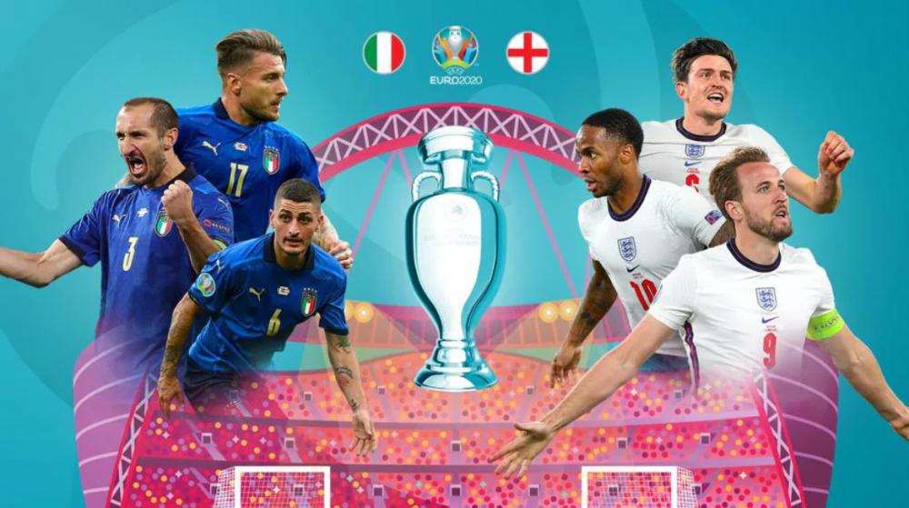 Lịch thi đấu chung kết EURO 2021: Italia vs Anh