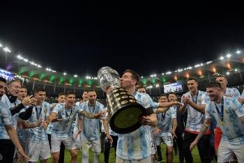 Argentina thắng kịch tính Brazil, Messi lần đầu vô địch Copa America