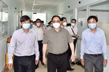 Thủ tướng kiểm tra công tác phòng chống dịch tại Tây Ninh