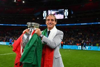 Đưa Italia lên đỉnh EURO, HLV Mancini không còn lời để khen học trò