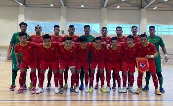 Tuyển Futsal Việt Nam bắt đầu hành trình chinh phục Futsal World Cup 2021