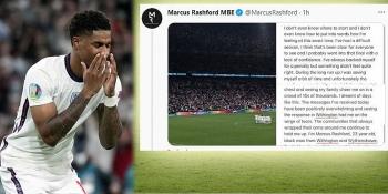 Đá hỏng 11 mét ở chung kết EURO 2021, Rashford viết tâm thư 'đọc muốn khóc'