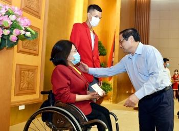 Thủ tướng Phạm Minh Chính: Mong các vận động viên thi đấu hết mình vì màu cờ sắc áo của Tổ quốc