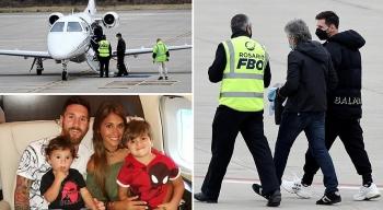 Bị khủng bố đặt bom trên máy bay, Messi và gia đình sơ tán khẩn cấp