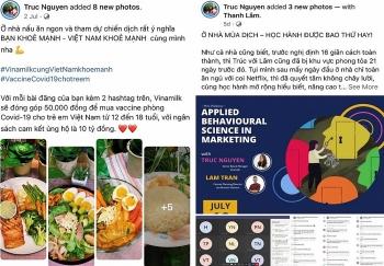 """Mạng xã hội sôi động hơn bao giờ hết với tinh thần """"bạn khỏe mạnh, Việt Nam khỏe mạnh"""""""