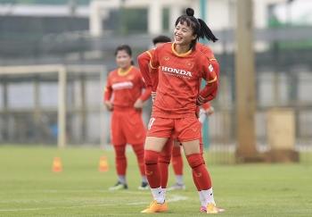 Tuyển nữ Việt Nam hứng khởi chuẩn bị chinh phục vé dự World Cup
