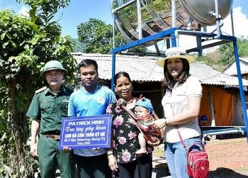 Quảng Trị: Bộ đội Biên phòng trao tặng công trình nước sạch cho người dân biên giới