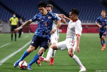 Olympic 2021 - Kết quả, Bảng xếp hạng bóng đá: U23 Nhật Bản thắng Mexico, Pháp, Đức vượt ải
