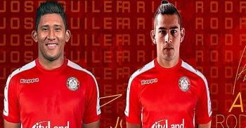 Bộ đôi tuyển thủ quốc gia Costa Rica sắp thi đấu V-League là ai?