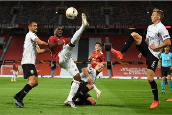Kết quả bóng đá Europa League vòng 1/8: MU giành vé vào tứ kết