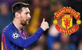 Tin chuyển nhượng bóng đá hôm nay (17/8): MU được khuyên nên mua Messi