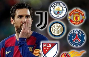 Tin chuyển nhượng bóng đá hôm nay (28/8): MU định đấu Man City giành Messi