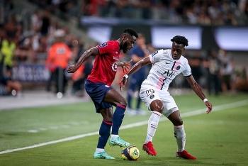 Thiếu vắng Neymar, PSG đánh rơi Siêu cúp Pháp 2021 vào tay Lille
