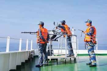 Vũ khí của lực lượng Cảnh sát biển gồm những gì?