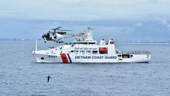 Cảnh sát biển Việt Nam được hoạt động ở địa bàn liên quan và ngoài vùng biển Việt Nam