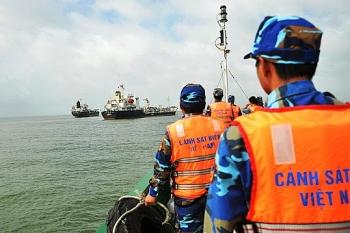 Cảnh sát biển thực thi luật, ngăn chặn xử lý hành vi vi phạm trên biển