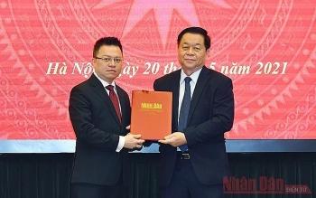 Ông Lê Quốc Minh được bổ nhiệm làm Phó Trưởng Ban Tuyên giáo Trung ương
