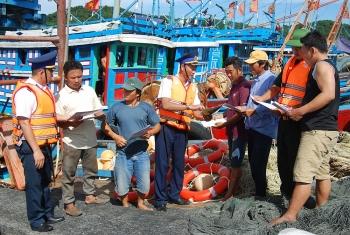 Ngư dân được hưởng nhiều lợi ích từ Luật Cảnh sát biển