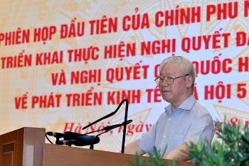 Tổng Bí thư: Loại bỏ tư tưởng bàn lùi của lãnh đạo, quản lý