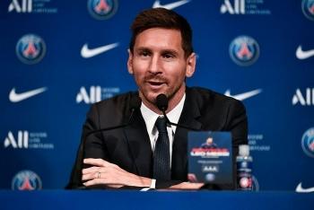 Ra mắt PSG, Messi đặt mục tiêu vô địch Cúp C1 châu Âu