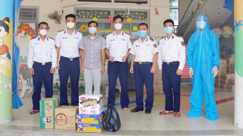 Lãnh đạo Đoàn Trinh sát số 2 thăm, kiểm tra công tác phòng chống dịch bệnh COVID-19 tại Đồng Nai