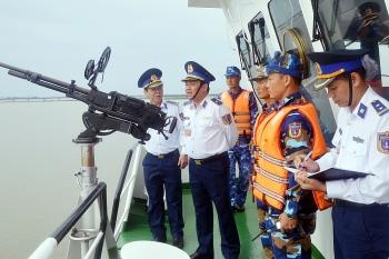 Luật Cảnh sát biển Việt Nam quy định cụ thể những hoạt động của Cảnh sát biển