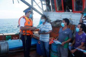 Cảnh sát biển đẩy mạnh chống khai thác thủy sản bất hợp pháp