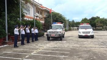 Bộ tư lệnh Vùng Cảnh sát biển 3 tham gia hỗ trợ, phòng chống dịch tại TP.HCM