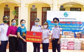 """Bộ Tư lệnh Vùng Cảnh sát biển 1 phát động phong trào """"Tiếp sức chống dịch COVID -19"""""""