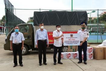Bộ Tư lệnh Vùng Cảnh sát biển 2 hỗ trợ ngư dân Đà Nẵng vượt qua đại dịch