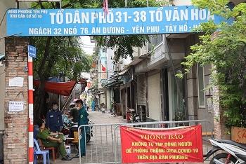 Hà Nội phong tỏa khu vực có 4.000 người dân ở quận Tây Hồ