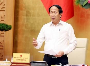 Phó Thủ tướng Lê Văn Thành là Trưởng Ban Chỉ đạo Nhà nước các dự án trọng điểm về dầu khí