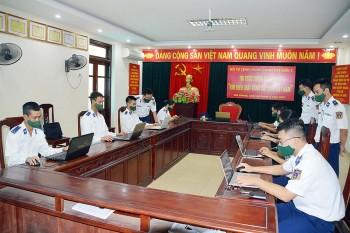 100% cán bộ, chiến sĩ BTL Vùng Cảnh sát biển 1 tham gia Cuộc thi tìm hiểu Luật Cảnh sát biển Việt Nam