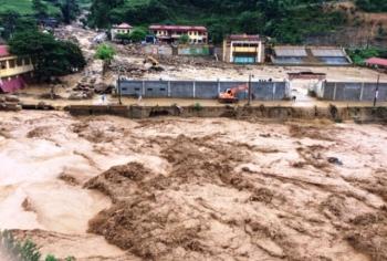 Tin ATNĐ khẩn cấp; cảnh báo mưa lớn, lũ quét, sạt lở đất, ngập úng cục bộ