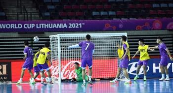 ĐT futsal Việt Nam sẵn sàng cho trận ra quân gặp Brazil tại World Cup 2021