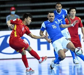 ĐT Việt Nam làm nên điều bất ngờ trước Brazil ở VCK Futsal FIFA World Cup 2021