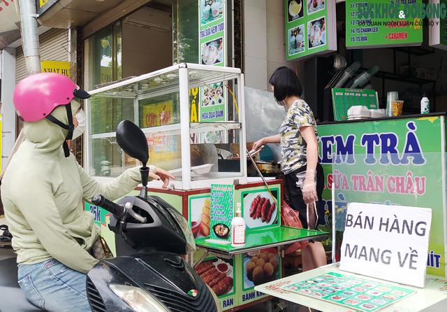 19 quận, huyện của Hà Nội được bán hàng mang về từ trưa 16/9