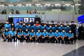 Đội tuyển Nữ Việt Nam lên đường chinh phục tấm vé dự VCK Asian Cup nữ 2022