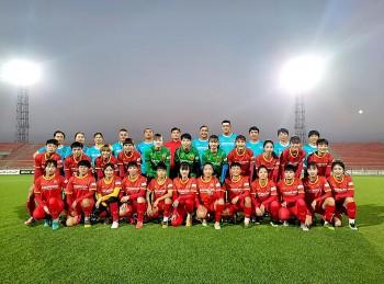 ĐT nữ Việt Nam làm quen sân, sẵn sàng chinh phục tâm vé dự Asian Cup nữ 2022