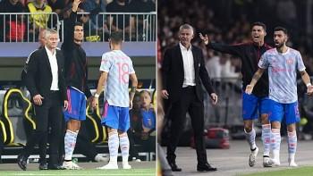 HLV Ole Solskjaer lên tiếng về việc Ronaldo qua mặt chỉ đạo cầu thủ MU