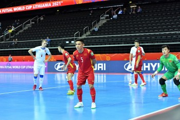 Cầm hoà Séc, ĐT futsal Việt Nam giành vé vào 1/8 World Cup 2021