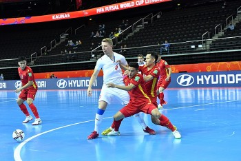 Link xem trực tiếp Futsal Việt Nam vs Futsal Nga (21h30, 22/09)