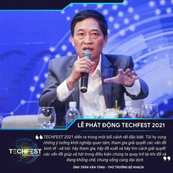 Phát động Ngày hội Khởi nghiệp Đổi mới sáng tạo quốc gia TECHFEST Việt Nam 2021
