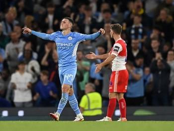 Kết quả bóng đá Cúp Liên đoàn Anh ngày 22/9: Man City trút giận lên đội bóng 'tý hon'