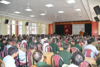 Tuyên truyền Luật Cảnh sát biển Việt Nam cho hơn 200 cựu chiến binh ở Hải Phòng