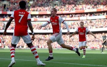 Kết quả, BXH Ngoại hạng Anh 2021/22 (27/9): Arsenal thắng đậm Tottenham, bất ngờ vị trí MU