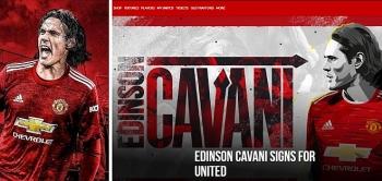 Kết thúc chuyển nhượng mùa hè 2020: Cavani chính thức gia nhập MU, mặc áo số 7