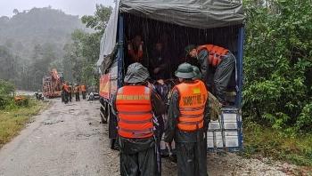 Thông tin chính thức về 13 cán bộ, chiến sĩ mất liên lạc khi cứu hộ ở Rào Trăng 3